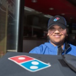 Domino's photo: Service with a smile!