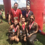 The Informatica team competing in the Rugged Maniacs charity event