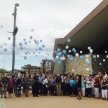 Sky Ridge Medical Center photo: Celebrating life with a balloon release for Cancer Survivor Day