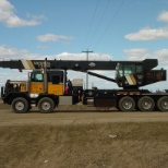 Allnite Trucking Ltd. photo: 40 ton picker