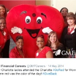 Our Charlotte ladies attended the Charlotte #GoRed for Women Luncheon! #GiveBack