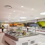 T. Rowe Price photo: Cafeteria in Owings Mills