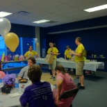 Survivor Reception at Relay For Life of University of Akron