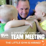 The Little Gym photo: A different kind of team meeting