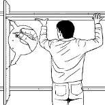 ... Lifespan Closets Photo: Mounting Closet System