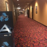 The halls of cinemark