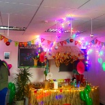 Christmas- Mexican party-decoration