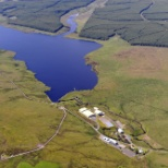 Scottish Water photo: Aerial Reservoir Picture