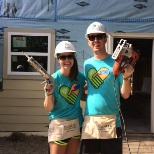 Ft. Worth team giving back by building for Habitat for Humanity.