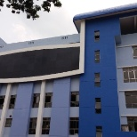 West Bengal State University photo: New colour