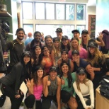 Lululemon Athletica photo: The team during holiday season.