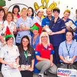 Over Christmas Sports Direct donated presents to the Maternity ward to be handed out to new mothers