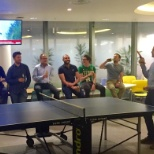 bwin.party digital entertainment photo: Of course there is a table tennis table and regular competitions