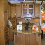 My Home Depot kitchen display area
