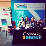 Onward Search photo: Our SF Team at a local UX event!