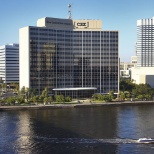 CSX photo: CSX headquarters is located on the banks of the St. Johns River in downtown Jacksonville, Fla.