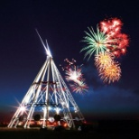 World's Largest Teepee (Canada Day)