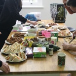 Amida Recruit photo: Any excuse for a shared lunch is welcomed by our London team.