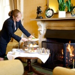 Elite Hotels photo: Service Afternoon Tea at Ashdown Park Hotel & Country Club