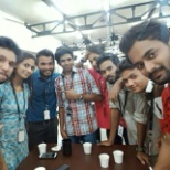 MphasiS photo: Sent off party