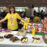 A Children in Need Bake Sale at George's Head Office