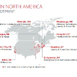 In North America, Henkel has 69 sites, including 37 production facilities.