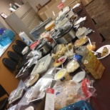 Kroger Stores photo: Thanksgiving Feast for the employees