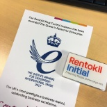 Rentokil Pest Control has been awarded the Queen's Award for Enterprise: International Trade 2017