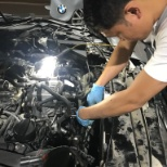 Repairing BMW Engine
