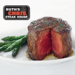 Ruth's Chris Steak House photo: Signature sizzling Filet.