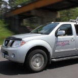 Continental Mapping Consultant's, INC photo: Here is our mobile lidar in action