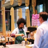 photo of Harris + Hoole, Barista at work!