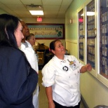 Treasure Chest team members honor their military team member wall of fame