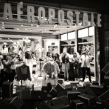 Aeropostale photo: Apertura de la boutique plaza satélite