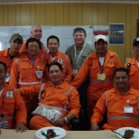 Qatargas photo: PMT Meeting with our Project Manager