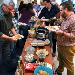 Geriatric Practice Management (GPM) photo: Our great GPM team enjoying a Thanksgiving feast!