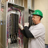 Electrical work at the Hamilton Health Sciences Cardiac, Vascular and Stroke Research Institute