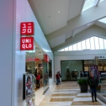 Front of Uniqlo in Bellevue Square