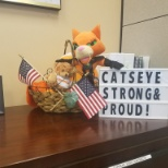 Catseye strong and proud