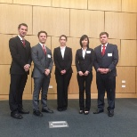 Team at the CFA Institute Local Challenge in Dallas, TX