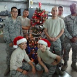 U.S. Air Force photo: Christmas deployment