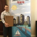 Personify photo: Setting up for our 2016 user conference in Tampa, Florida