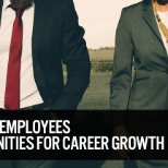 We offer employees opportunities for career growth