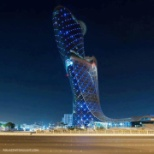 hyatt capital gate,abu dhabi