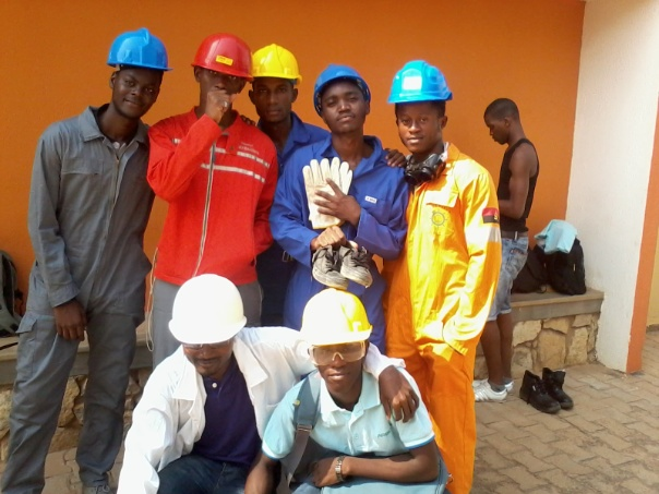 Refinery camp of Jean Piaget University of Angola
