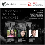 JumpSearch photo: Our co-Founder, Michelle Kuo, spoke at Catalyst Week in Downtown Las Vegas.