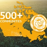 You'll find Co-op stores in over 500 communities across Western Canada.
