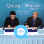 #TESOL #Qkids signing global partnership contract