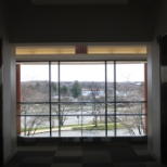 Zebra Technologies photo: View out the 2nd story Lincolnshire