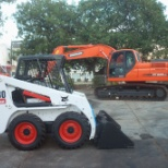 Bobcat Company photo: In Mauritius